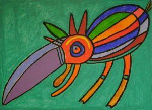 prehistorische vogel